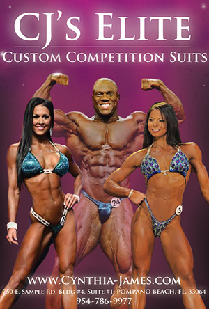 CJ's Elite Custom Competition Suits